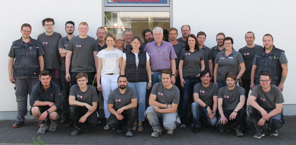 Elektro Kramer, Team, Gruppenfoto