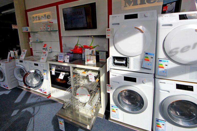 Miele, Waschmaschine, Trockner, Spülmaschine, Gefriertruhe, Gefrierschrank, Kühlschrank, Liebherr
