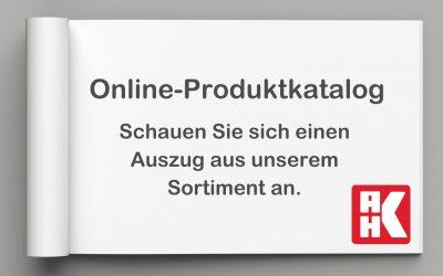 Online-Produktkatalog
