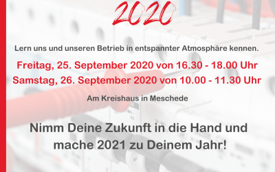 Azubi-Speed-Dating – 25. & 26.09.2020