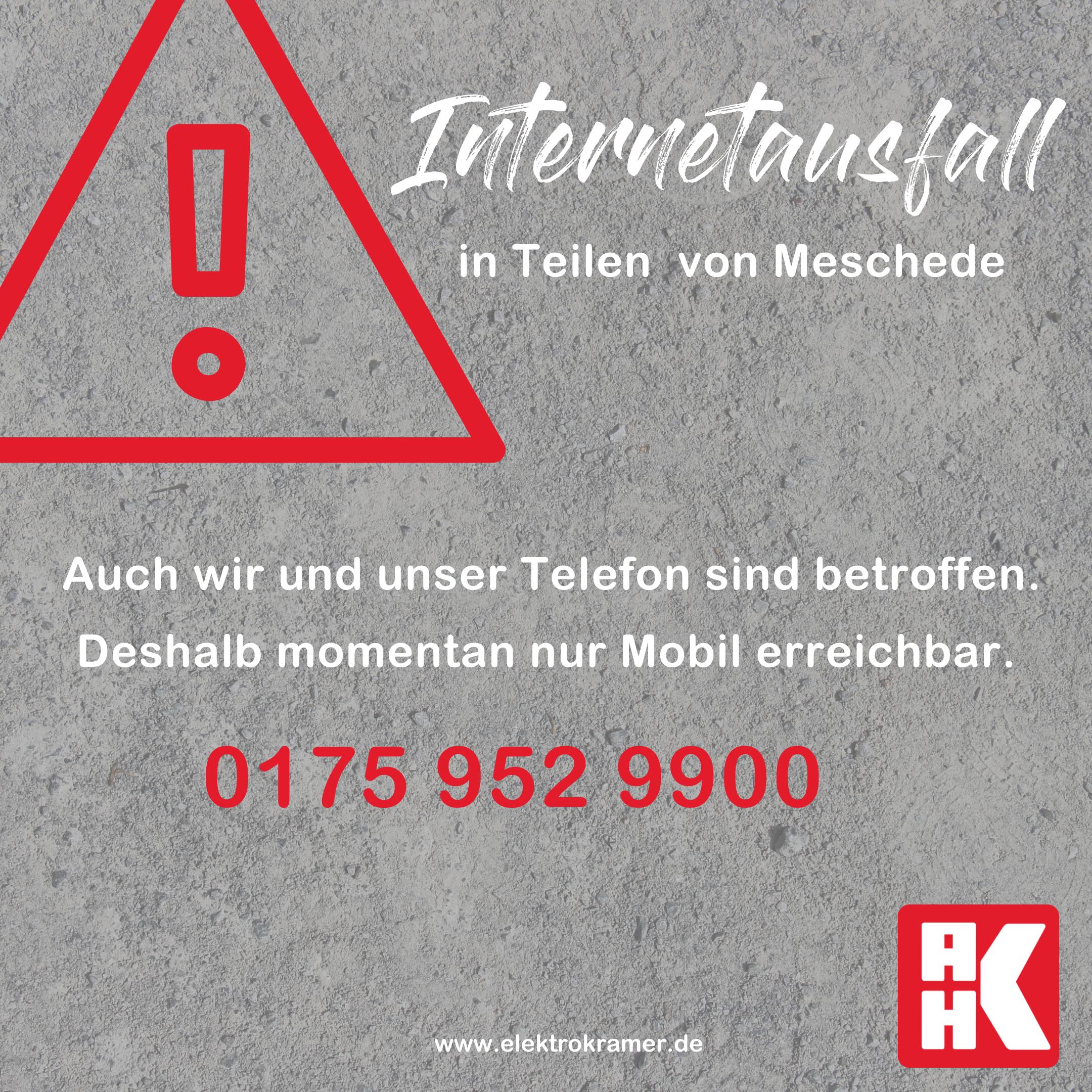Internetausfall in Meschede